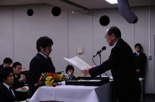 2008修了式/学位授与2