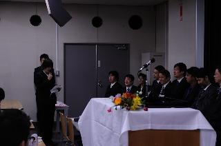 2008修了式/総代挨拶/杉本さん