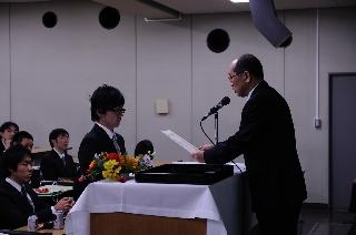 2008修了式/ベストプレゼン賞/草なぎくん