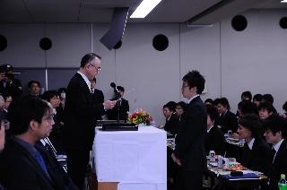 2008卒業生代表:勝又 啓裕