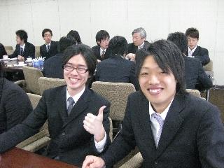 2009専攻入学式/懇親会3