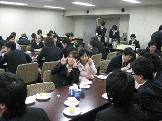 2009専攻入学式/懇親会4