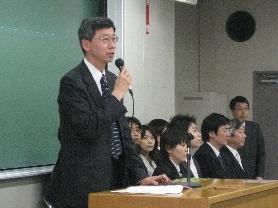 2009入学式戸井学科主任挨拶