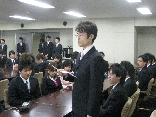 2009専攻入学式/答辞