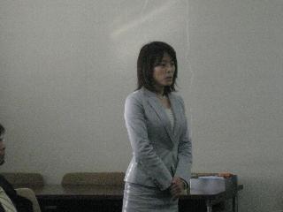 2009専攻入学式/教職員紹介/新妻先生