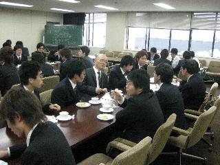 2009専攻入学式/懇親会1