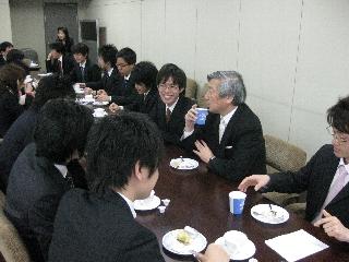 2009専攻入学式/懇親会2