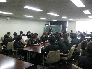 2009専攻入学式/司会梅田先生
