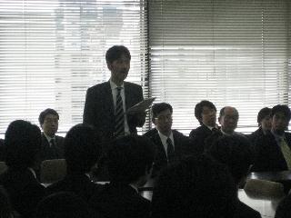 2009専攻入学式/祝辞/松本先生