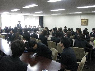 2009専攻入学式/祝辞/松本先生2